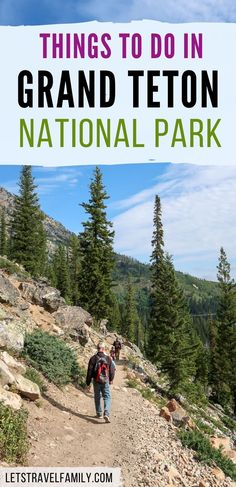 Things to do in Grand Teton National Park, a great Wyoming National Park near Yellowstone National Park. Be sure to add the Tetons to your National Park bucket list for this summer. Plan a fun road trip and go on some great hikes in the Tetons. #grandteton #nationalparks National Parks Usa, Grand Teton National Park, Yellowstone National Park, Road Trip With Kids, Family Road Trips, Alaska Travel, Alaska Cruise, Viewing Wildlife, Tennessee Vacation