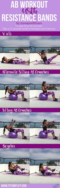 a040498a9f1 Get a flat stomach by using our free ab workout that you use alongside  resistance bands