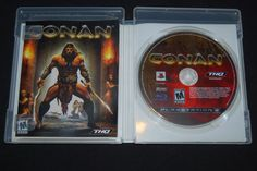 Conan (Sony PlayStation 3, 2007) PS3 COMPLETE USA Version Action Adventure