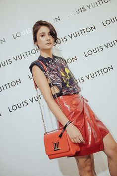 All the Outfits We Loved at Louis Vuitton's Launch in Solaire Louis Vuitton Twist, Star Fashion, Ph, Product Launch, Sari, Shoulder Bag, Outfits, Style, Saree