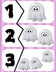 Free Ghost Counting Printable