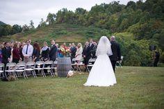 Autumn Vineyard Nuptials at Delfosse Vineyard   Charlottesville, VA