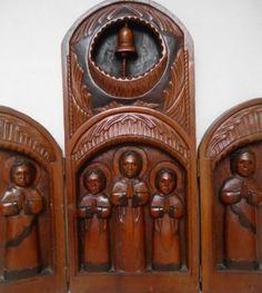 Roque Santeiro. Oratório de Viagem. 55x25 cm