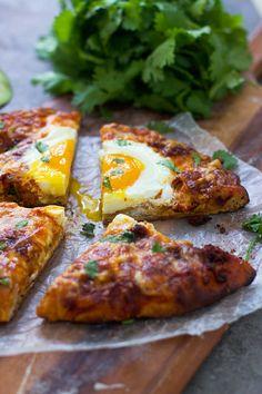 Huevos Rancheros Pizza - Cooking for Keeps