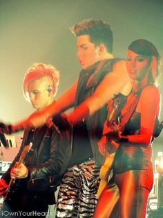 Adam Lambert Tommy Joe Ratliff Ashley Dzerigian