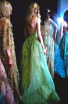 #backstage @ Elie Saab Fall 2015 Couture