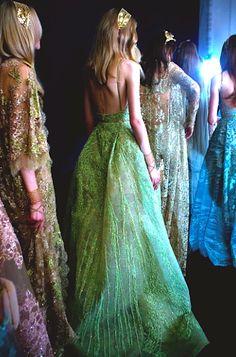 ELIE SAAB Backstage | Haute Couture Autumn Winter 2015-16