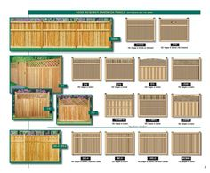 Custom Wood Cedar Fencing Wood Fence