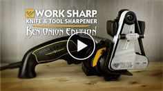 Work Sharp Ken Onion Edition, Fast, Repeatable, & Precision Sharpening from 15° to 30°, Premium Flexible Abrasive Belts, Variable Speed Motor, & Multi-Positioning Sharpening Module