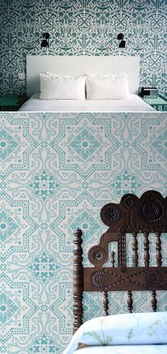 wallpaper blues / sfgirlbybay
