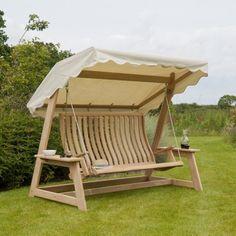 Personnalisés haut de gamme extérieure bois swing swing solide bois ...