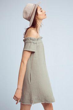 Slide View: 1: Maella Off-The-Shoulder Tunic Dress