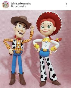 Cumple Toy Story, Festa Toy Story, Toy Story Party, Mickey Mouse Parties, Mickey Mouse Clubhouse, Mickey Mouse Birthday, Fondant Figures, Clay Figures, Dibujos Toy Story
