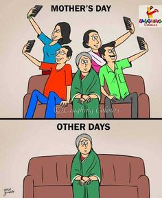 happy mothers day quotes messages sayings images cards Reality Of Life, Reality Quotes, Life Quotes, Satire, Pictures With Deep Meaning, Art With Meaning, Laughing Colors, Satirical Illustrations, Meaningful Pictures
