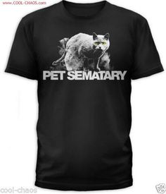 Pet Sematary T-Shirt – Church the Cat Pet Cemetery