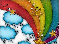Kleuren van de regenboog - achtergronden voor je desktop: http://wallpapic.nl/hoge-resolutie/kleuren-van-de-regenboog/wallpaper-5197
