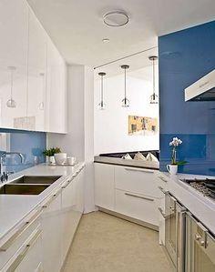 Greenwich Village, NYC Loft Kitchen Design by S.B. Long Interiors