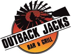 Outback Jacks Redcliffe and Strathpine Restaurant Plan, City Logo, Mermaid Beach, Bar Grill, Family Night, Grilling, Perth, Brisbane, Logos