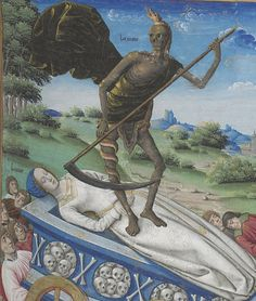 Triomfi (of Death? of Petrarch?) Rouen c.1503, no further info.