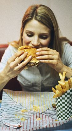 Gorging on junk food may not just make you fat, it could also give you dementia