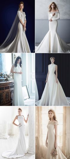 30 Timelessly Elegant Structured Wedding Dresses You Will Fall In Love With!