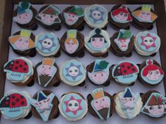 Ben and Holly's little kingdom inspired this collection with handmade sugar toppers.