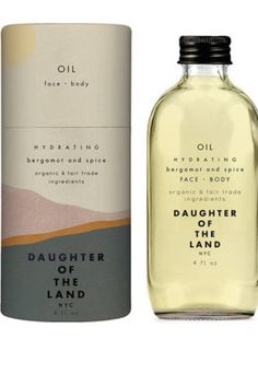 Daughter of the Land Bergamot and Spice Face + Body Oil, $48