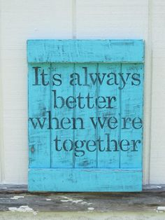 It's true... Happy we have the weekend
