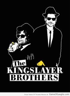 The Kingslayer Brothers - Game Of Thrones Memes