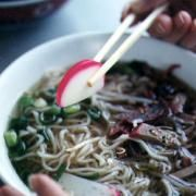 Easy and Fast Healthy Asian noodle soup Recipe