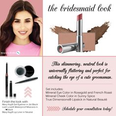 #marykay #thebridesmaidlook #qtoffice #withyoueverystepoftheway www.qtoffice.com