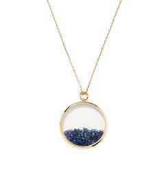 Aurelie Bidermann Sapphire Chivor Necklace