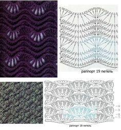 Punti particolari uncinetto - Particular crochet Stitch