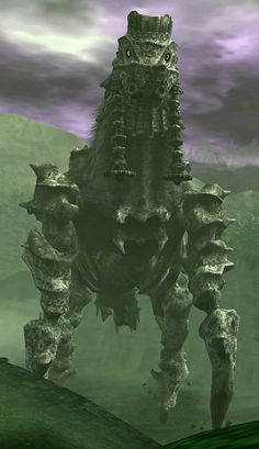 Phalanx Shadow Of The Colossus Video Game Art, Video Games, Mundo Dos Games, Fantasy Places, Fantasy Monster, Character Modeling, Fauna, Resident Evil, Online Games