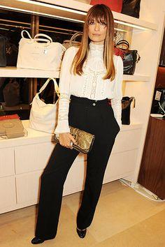 Mr. Blasberg's Best-Dressed List: London Fashion Week Spring 2014 Edition - Caroline de Maigret