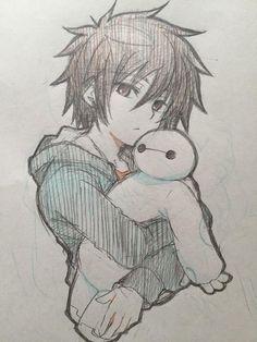 The drawing anime boys Anime Drawings Sketches, Anime Sketch, Manga Drawing, Disney Drawings, Manga Art, Cute Drawings, Baymax Drawing, Pencil Drawings, Anime Boys