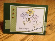 Stampin Up - CardCreationsbyLaura