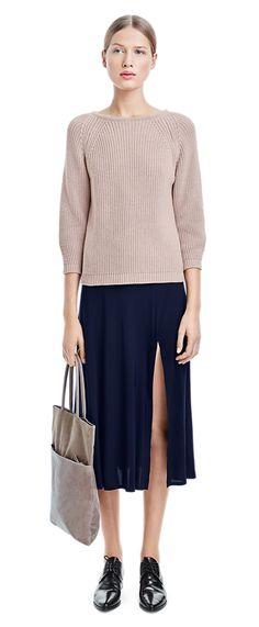 Cropped Rib Pullover - Knitwear - Woman - Filippa K