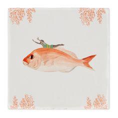 vind je StoryTiles Go With The Flow Wandtegel 10 x 10 cm op vtwonen by fonQ ✓ eenvoudig besteld & snel geleverd ✓ gratis verzending ✓ ook avondbezorging Delft, Design Shop, British History Museum, Underwater World, Museum Collection, 16th Century, Natural History, Ceramic Art, Tiles