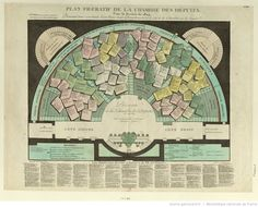 Plan Figuratif De La Chambre Des Députés Pour la Session de 1824 : [estampe]