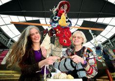 #crochet totem pole