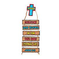 Eternal Life Door Hanger Decoration Craft Kit - 13693609
