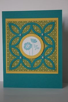 Lattice die by Stampin Up - The Pursuit of Stampiness
