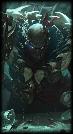 League of Legends- Pyke, The Bloodharbor Ripper.