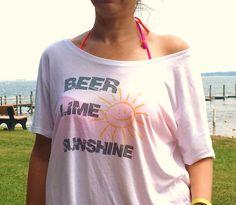 Beer Lime & Sunshine #Summertime