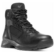 "Danner® 28017 Kinetic Side-Zip 6"" Black GTX® Waterproof lightweight boot with a side-zip for law enforcement officers."
