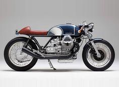 moto guzzi le mans 'KM17' custom motorcycle by kaffeemaschine
