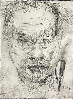Mike Parr Untitled self portraits (set 1), 1989