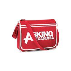 Asking Alexandria Messenger Bag | Gothic Clothing | Emo clothing |... ($44) ❤ liked on Polyvore
