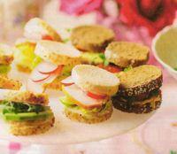 Mini sandwiches – Paasrecepten.net